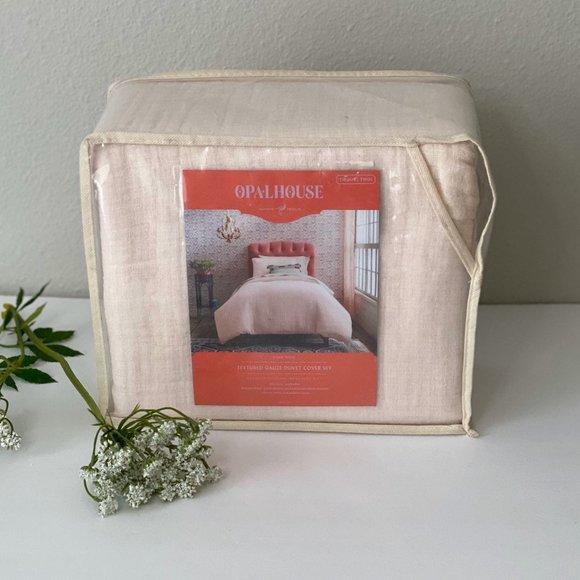 Opalhouse Yarn Dyed Duvet Cover Twin/Xl